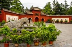 White Horse Temple royalty free stock photos