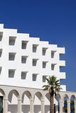 White hotel Royalty Free Stock Photography