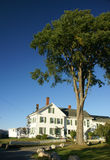 White hotel - bed & breakfast Stock Photography