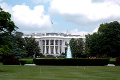 White house. In washington president royalty free stock photography