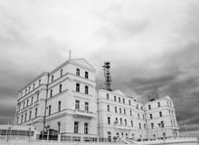 White House. Photo of a white building Royalty Free Stock Photography