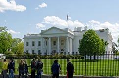 The White House. At Washington DC Royalty Free Stock Photos