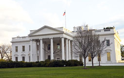 The White House. In Washington D.C., the South Gate royalty free stock photos