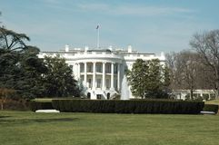White House. The White House Washington DC royalty free stock photo