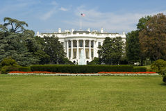 White House. Captured from a head on view stock photos
