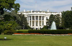 White House. Captured from the south side royalty free stock image