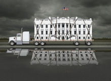 White House Being Delivered Stock Photos
