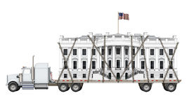 White House Being Delivered Royalty Free Stock Images