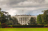 White House building in Washington, DC Royalty Free Stock Images