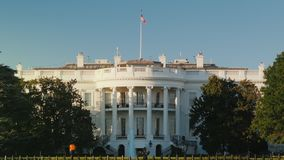 White House building in Washington, DC, USA. HD video stock footage
