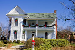 White House at Christmas Royalty Free Stock Photos