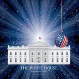 White House Christmas Royalty Free Stock Photos