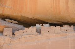 White House Cliff Dwelling Ruins Royalty Free Stock Image