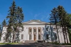 White house columns Stock Image