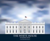 White House day Royalty Free Stock Photos
