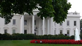 White House. The day when I saw the white house was the best day of my life... Even though I didn't get to get a tour, it was an honor to see the outside Royalty Free Stock Photos