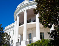 The White House detail Royalty Free Stock Photo