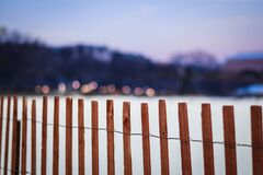 White House Ellipse Fence Stock Images