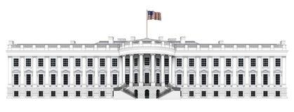White House Executive Expansion Royalty Free Stock Photo