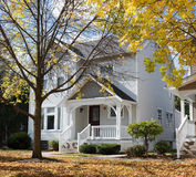 White House in Fall Royalty Free Stock Image