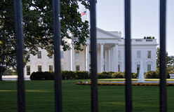 White House Fence. Royalty Free Stock Photography