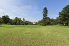 White House front lawn Royalty Free Stock Images