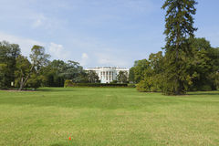 White House front lawn Royalty Free Stock Photos
