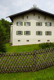 White house in the germany. The europe house in the germany Royalty Free Stock Image