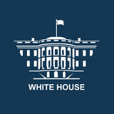 White house icon Royalty Free Stock Images