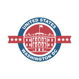 White house icon Royalty Free Stock Photos