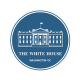 White house icon Stock Photo