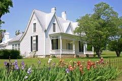 White House & Iris Royalty Free Stock Photo