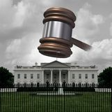 White House Legal Trouble stock images