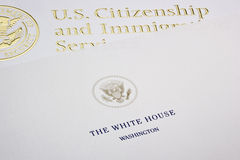 White House Letter Stock Photos