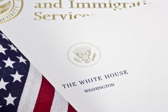 White House Letter Royalty Free Stock Image