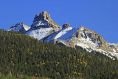 White House mountain, Mount Sneffels Range, Colorado Royalty Free Stock Photography