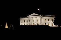 The White House in the night Stock Photos