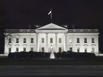 White House Night Royalty Free Stock Photography