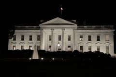 The White House Night Royalty Free Stock Photography
