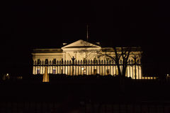 White House at Night Royalty Free Stock Photography