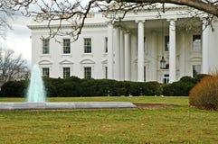 White House, North Entrance, Washington, DC. This is the north lawn and entrance to the White House, Washington, DC Stock Photos