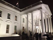 White House North Portico Royalty Free Stock Image