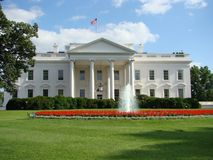White House North Side Royalty Free Stock Images