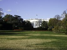the white house with the park royalty free stock images