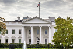 White House Pennsylvania Ave Washington DC Royalty Free Stock Photo