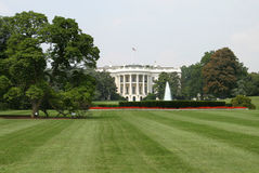 The White House, Rear. The rear view of the White House royalty free stock image