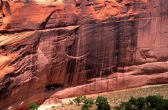 White House Ruins Canyon de Chelly Royalty Free Stock Photography