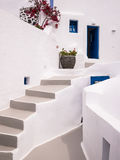 White House in Santorini, Greece Stock Images