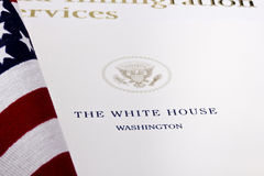 White House Seal royalty free stock photography
