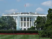 The White House. Security topping the white house for the visitation of several African Presidents, August 2014 Stock Photo